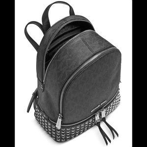 9729804da2a1 MICHAEL Michael Kors Rhea Studded Logo Backpack